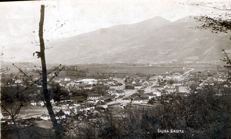 Бајина Башта након 2. светског рата